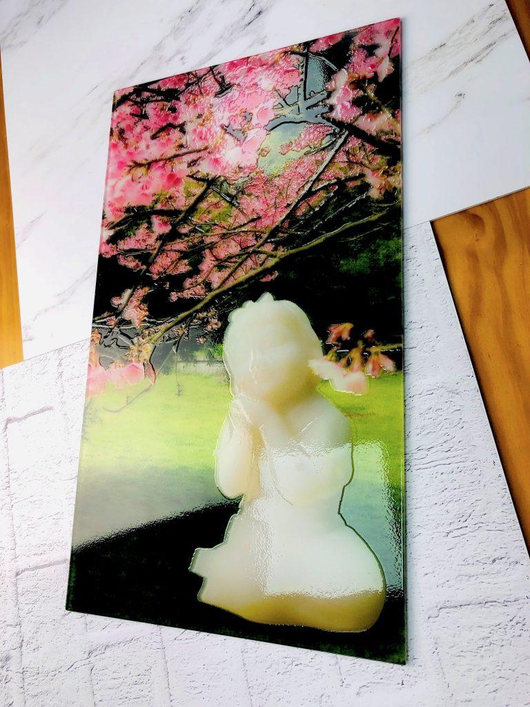 王秀杞雕塑-浮雕玻璃