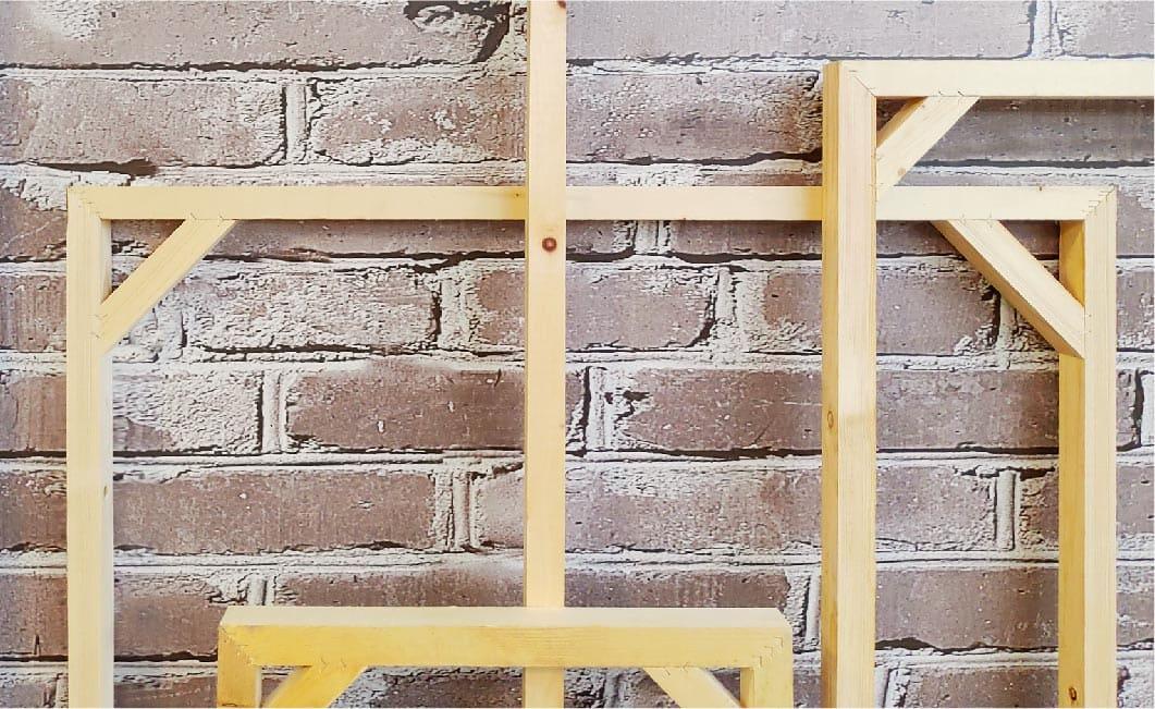 無框畫-頂級木框