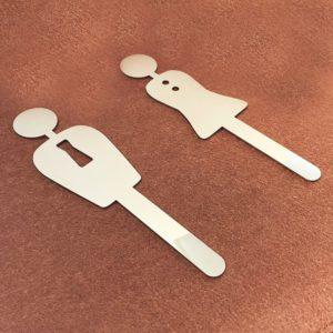 男女廁所標示