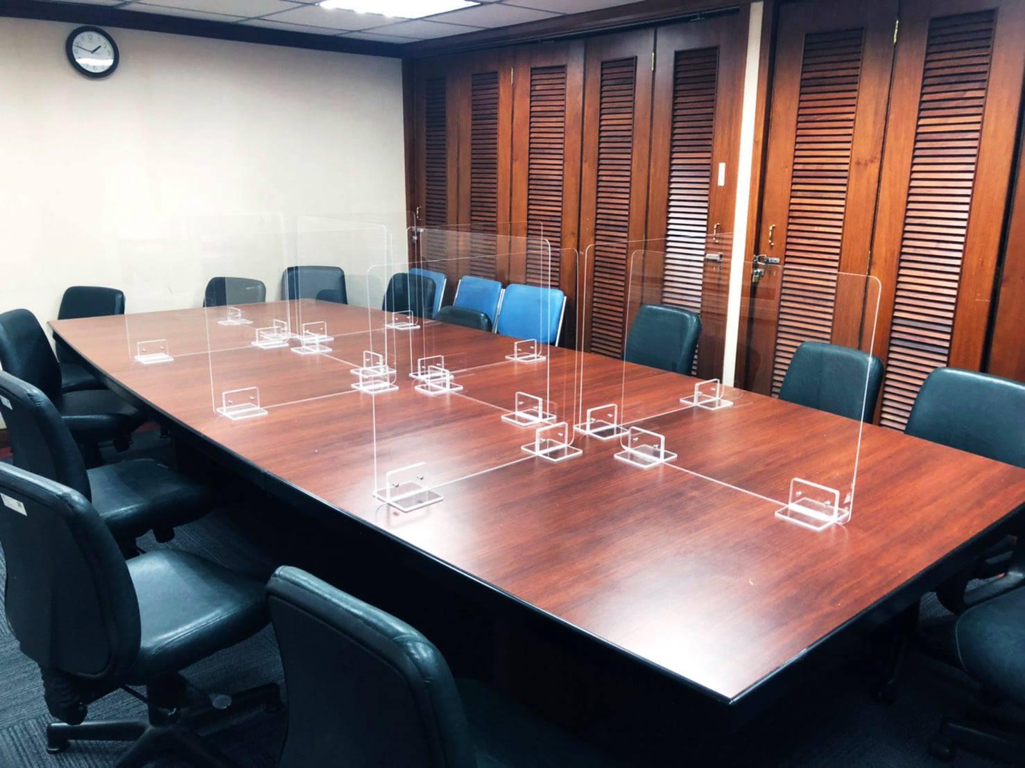 會議室防疫隔板